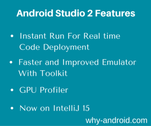 Android Studio 2 – Code change deployment in Real time, a Revamped Emulator and More