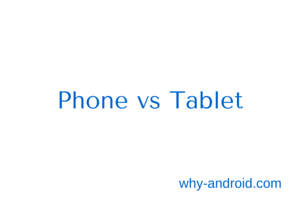 Android Basics : Phone vs Tablet – Screen specific Layouts